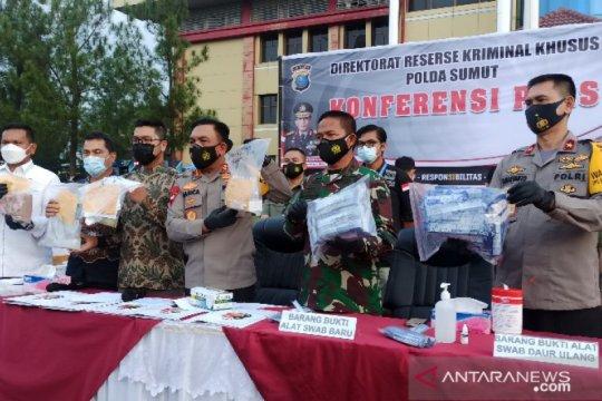 Kapolda: Penggunaan alat uji cepat bekas di Kualanamu sejak 2020