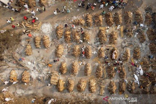 Kematian akibat COVID-19 di India lampaui 400.000 jiwa