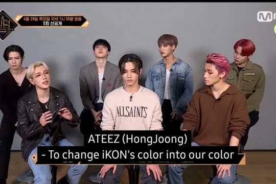 "Kata ATEEZ tentang iKON lewat cuplikan video baru ""Kingdom"""