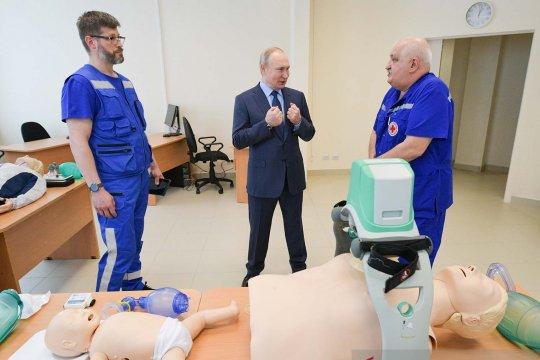 Rusia laporkan 7.639 kasus baru COVID-19 dan 351 kematian