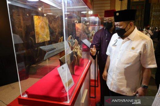 Ketua DPD RI kunjungi pameran Artefak Nabi di Jakarta Islamic Center