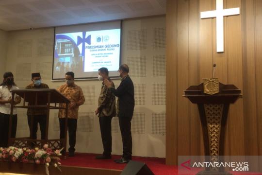 Anies bersama Gus Miftah resmikan gereja di Jakarta Utara