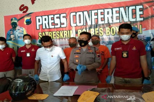 Polres Boyolali ungkap pembacokan karyawan, pelaku ditangkap