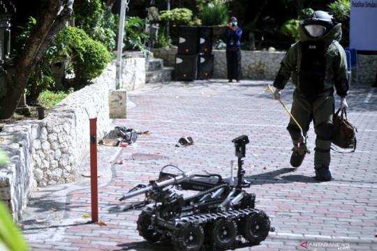 Polisi selidiki tas mencurigakan bertuliskan 'Awas Bom' di Sumut