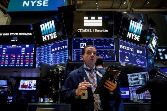 Wall Street dibuka bervariasi, investor tunggu keputusan The Fed