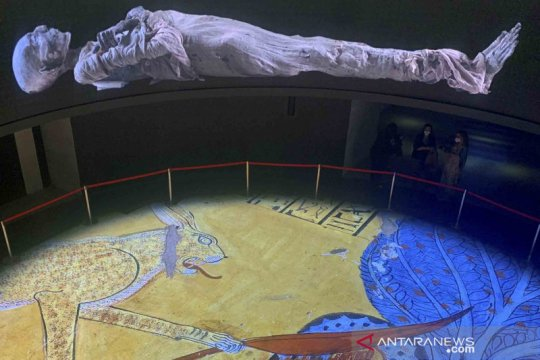 Yuk, intip koleksi Museum Nasional Peradaban Mesir di Kairo