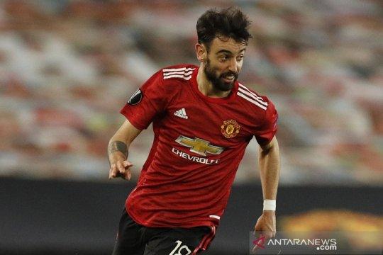 Bruno Fernandes tolak jemawa walau MU habis libas Roma 6-2