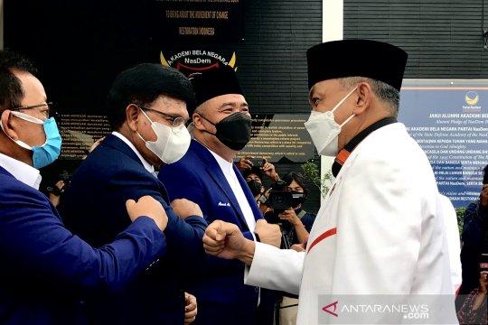 Pengurus PKS tiba di AKB Partai NasDem untuk silaturahmi kebangsaan