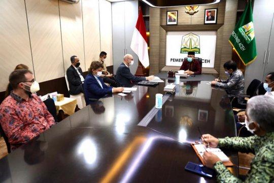 Dubes Ceko bahas kerja sama dengan Pemerintah Aceh