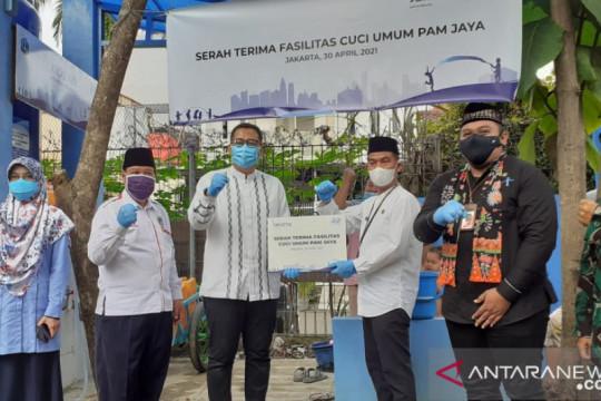 PAM Jaya dirikan fasilitas cuci umum dan air minum di Kalideres