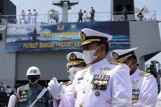 Kasal: Kapal AL Singapura baru evakuasi komponen ringan KRI Nanggala