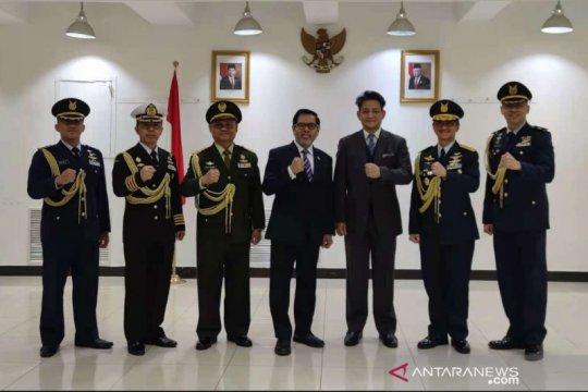 Jabatan Atase Pertahanan KBRI Beijing diserahterimakan