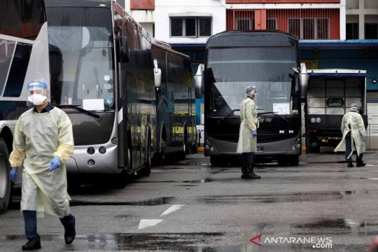 Singapura laporkan 17 kasus COVID-19 dari klaster bandara