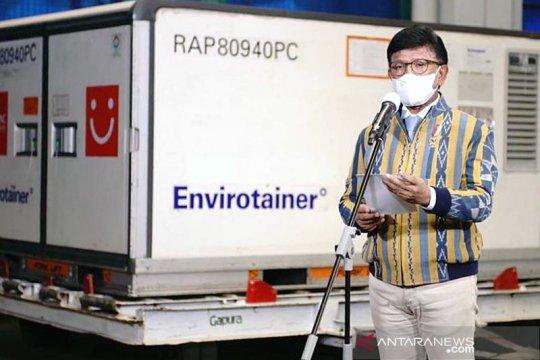 Indonesia terima 6,48 juta vaksin COVID-19 Sinovac dan Sinopharm