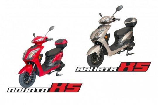 Rakata rilis dua sepeda motor listrik, harga mulai Rp15,6 juta