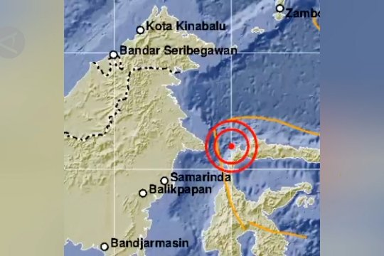 Donggala dan Tolitoli diguncang gempa 4 magnitudo