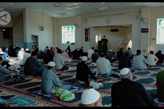 Laporan dari Inggris - Masjid di Southampton, UK gelar Shalat Jumat dengan prokes