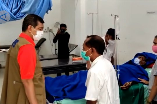Kepala BNPB tinjau lokasi Siklon Seroja di Kabupaten Lembata