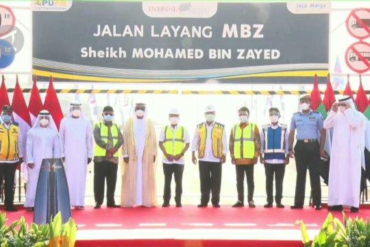 Mohamed Bin Zayed, resmi jadi nama baru tol layang Japek