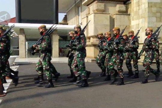 Pemakaman kabinda Papua berlangsung tertutup