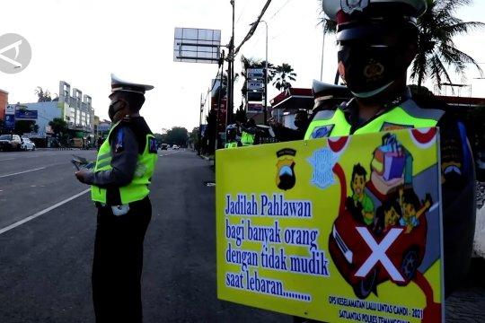Polisi jaga jalur tikus Temanggung antisipasi mudik