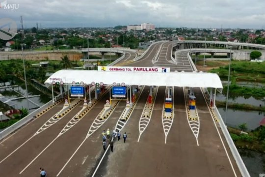 Presiden Joko Widodo resmikan tambahan dua ruas JORR II