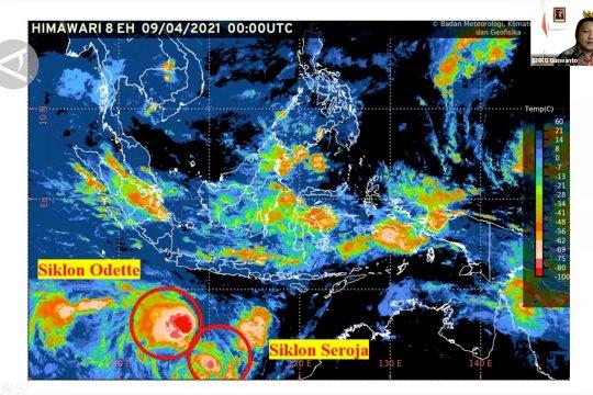 Waspada gelombang tinggi, hujan petir akibat siklon Odette