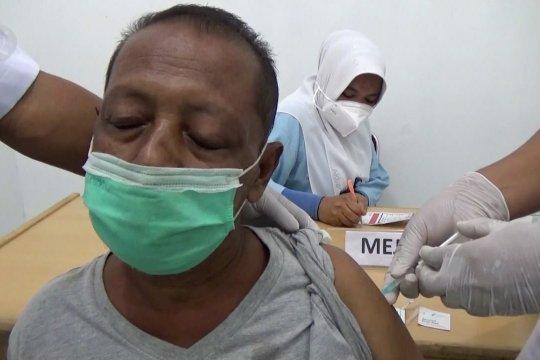 Calon jamaah haji lansia Aceh Utara terima vaksin tahap dua