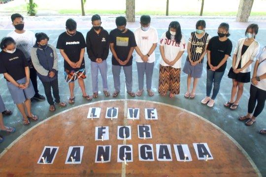 Doa bersama pelajar Katolik untuk awak KRI Nanggala-402