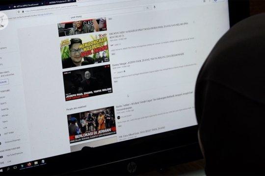 Kemkominfo putus akses 3.640 konten SARA termasuk akun Paul Zhang