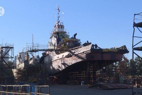 Menengok galangan kapal bersejarah di Argentina
