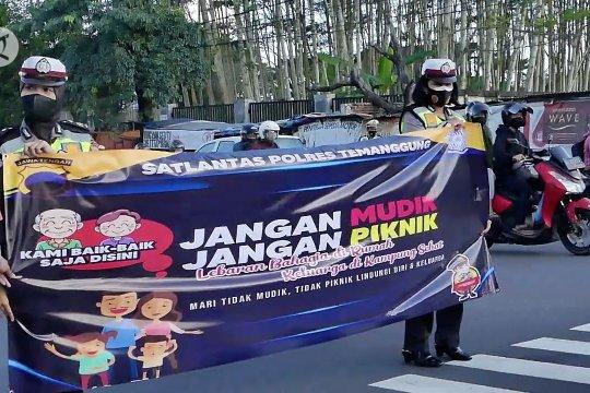 Polres Temanggung cegah warga pulang kampung