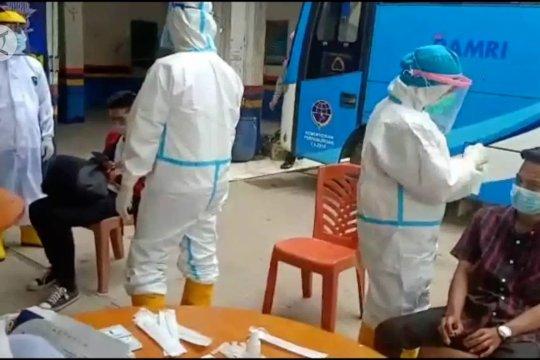 Polres Tulang Bawang gelar tes cepat antigen di Lintas Sumatera-Jawa