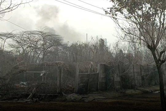 Hari ke-4, kebakaran kilang minyak Balongan sudah padam