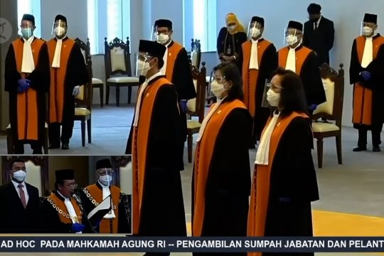 Ketua MA lantik 3 hakim ad hoc