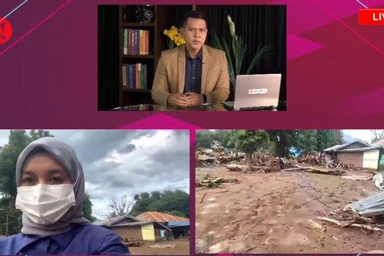 Laporan dari lokasi - Kondisi penanganan pasca banjir bandang di Adonara