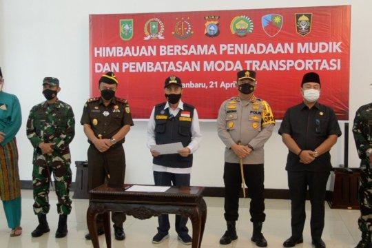 Lebaran, Riau siapkan pembatasan pergerakan masyarakat