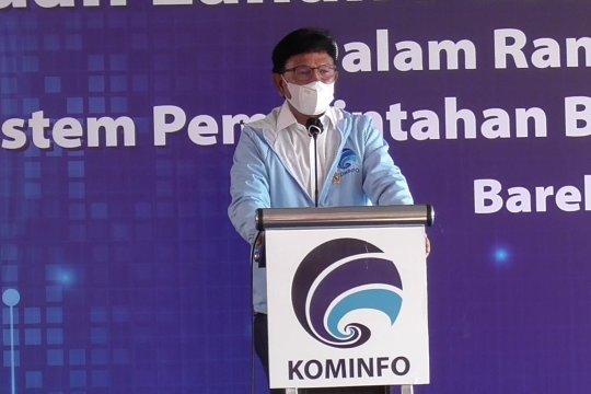 Menkominfo tinjau kesiapan lahan Pusat Data Nasional di Batam