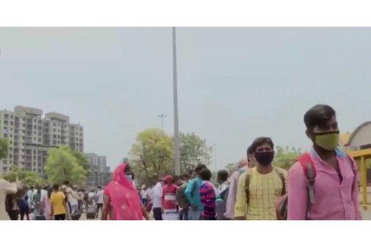 Penjelasan Menkes tentang lonjakan kasus COVID-19 di India