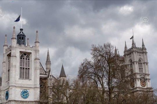 Lonceng Westminster Abbey berbunyi 99 kali, penghormatan untuk Pangeran Philip