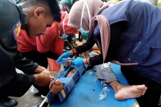 TNI AL bantu tingkatkan kesiapsiagaan warga pesisir Pariaman