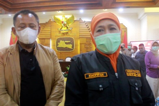 Gubernur Khofifah sampaikan belasungkawa kepada korban meninggal Gempa Malang