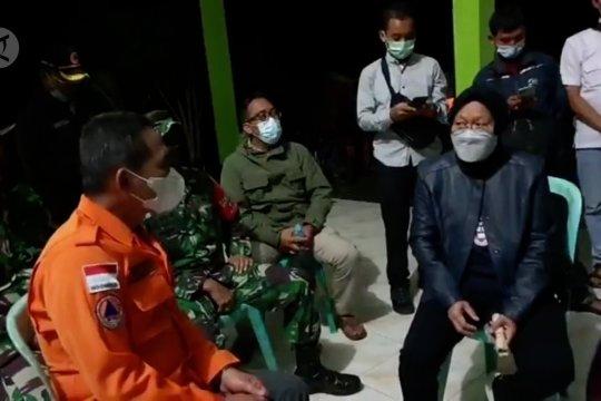Mensos kunjungi lokasi terparah gempa