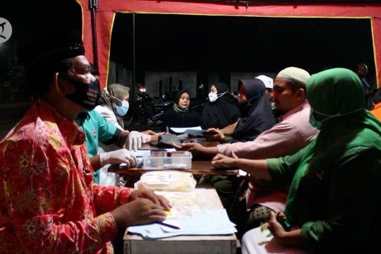 PMI Aceh Utara datangi pendonor usai tarawih