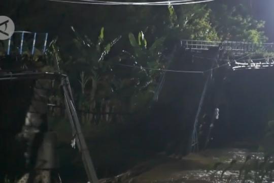 Jembatan ambrol, Wali Kota Madiun sebut bukan kewenangannya