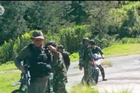 Kontak senjata, 1 anggota Brimob meninggal di Puncak Papua