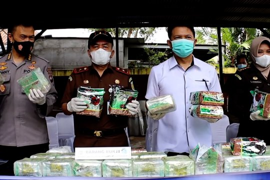 Tim gabungan amankan 53,6 kg sabu di perbatasan RI-Malaysia