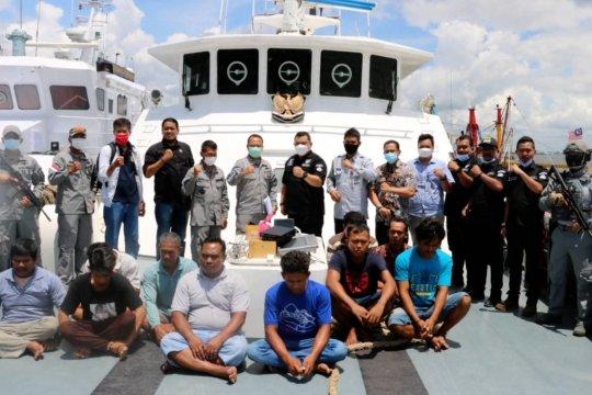 100 Hari KKP era Menteri Trenggono tangkap 72 kapal pencuri ikan