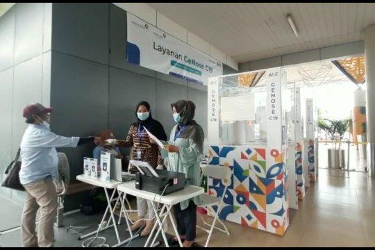 Bandara Jambi berlakukan tes GeNose bagi penumpang