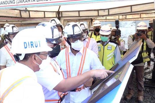 Kereta Cepat Bandung-Jakarta ditargetkan beroperasi 2022